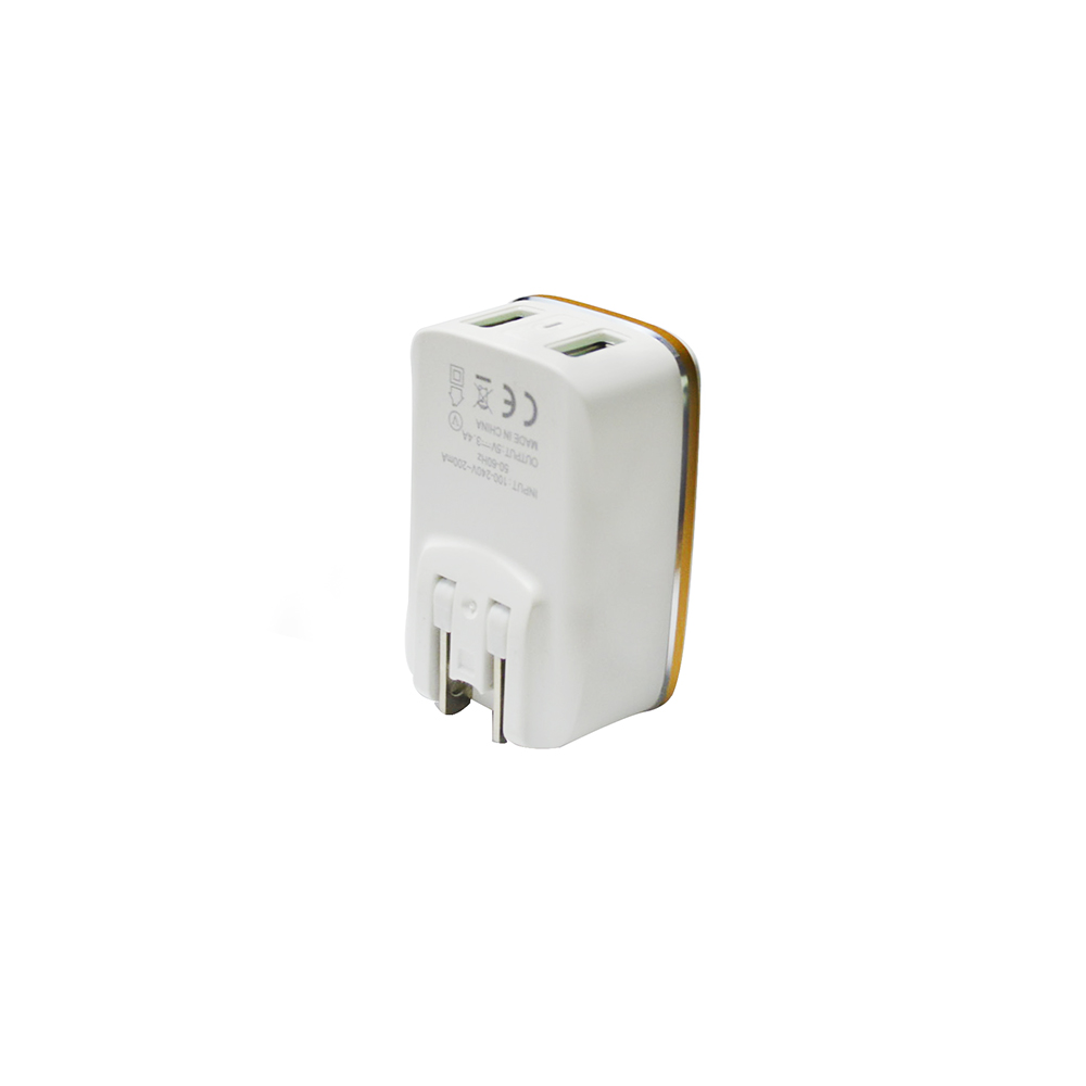 2usb 12 w wall charger